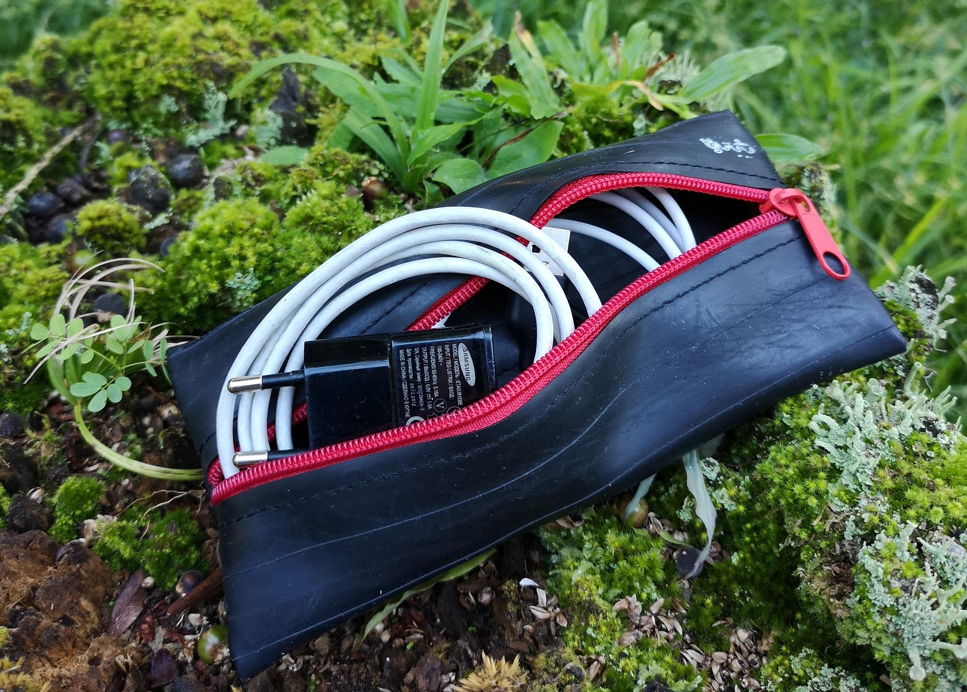 Upcycling - Ultra-strapazierfähige Taschen aus alten Fahrradschläuchen