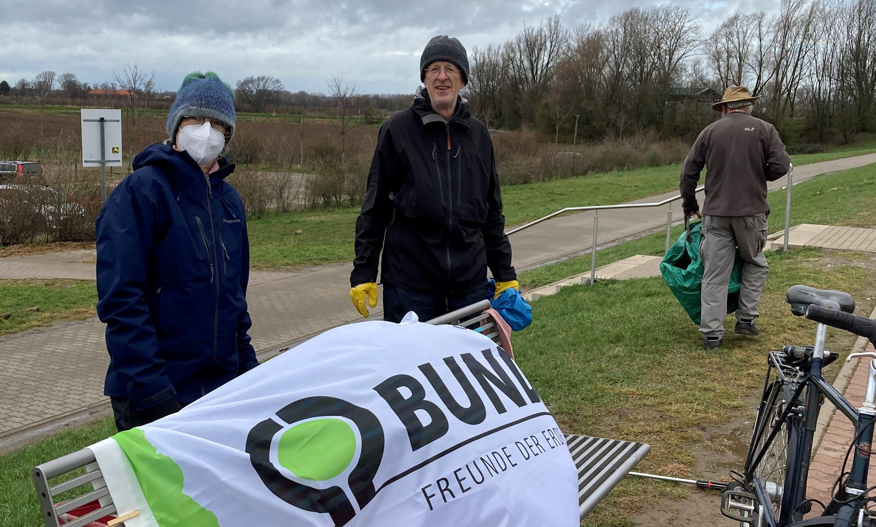 Rhein Clean Up BUND Ortsgruppe Meerbusch