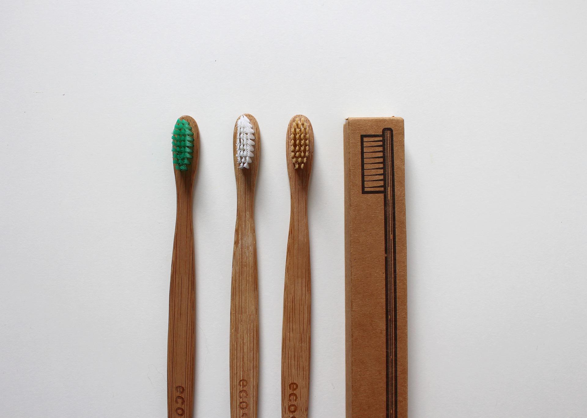 Plastikfreie Zahnbürsten